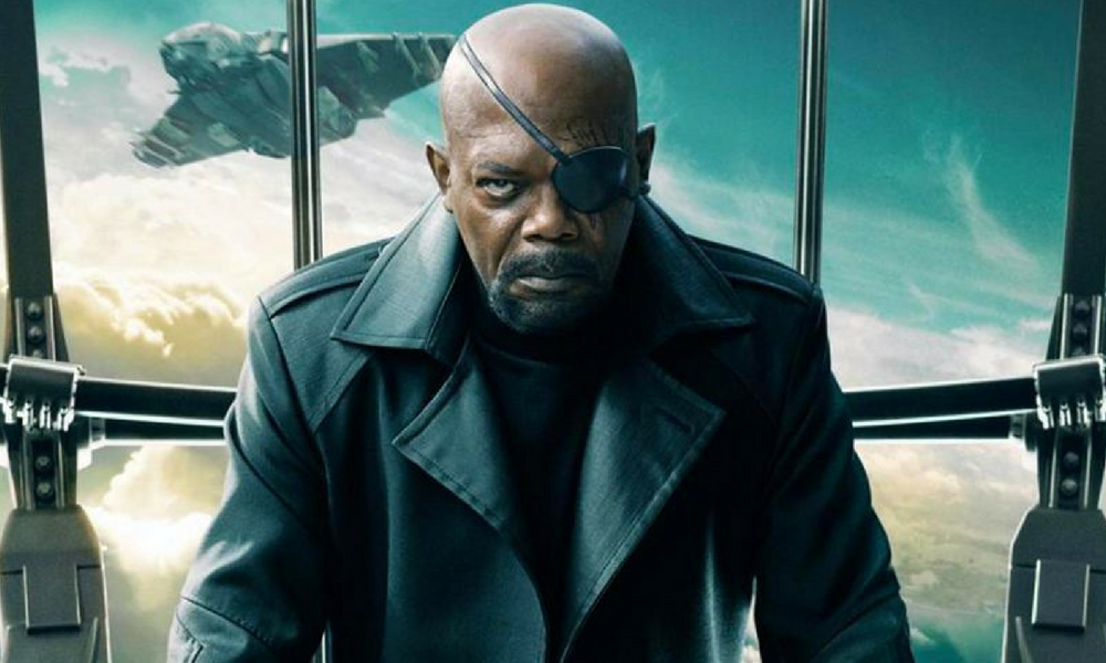 Nick Fury - Capitã Marvel