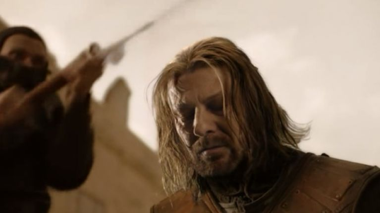Game Of Thrones - Ned Stark Morre