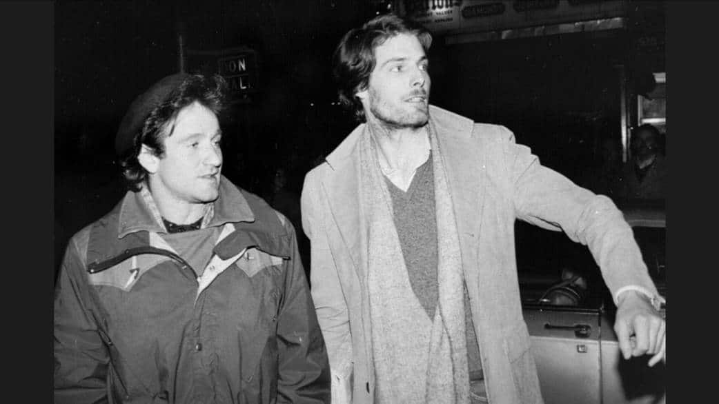 Robin Williams e Christopher Reeves